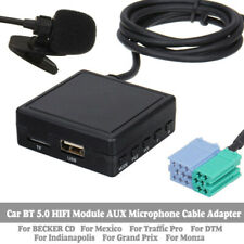 Cable Adapter Bluetooth 5.0 For Becker Mexico Traffic Pro Abs Accessories Parts