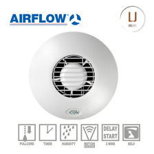 Airflow Icon 30S Eco Bathroom Wall Low Voltage Extractor Fan 12V 72683801 New