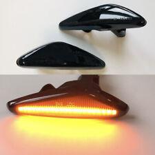 2x LED Side Marker Turn Signal Light Lamp For Mazda 6 RX-8 MX-5 Fiat 124 Spider