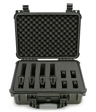 """Cm 16"""" 4 Multiple Pistol Case for 4 Handguns and Accessories - Case Only"""