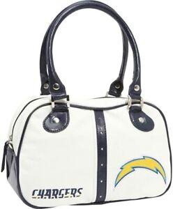NFL San Diego Chargers Logo Handbag Bowler Purse Bag NEW