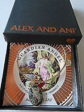 Alex and Ani GUARDIAN ANGEL Holy Ones Expandable Wire Bracelet Yellow Gold NWTBC