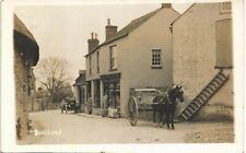 Buckland near Faringdon. Street, Shops & Horse and Cart.