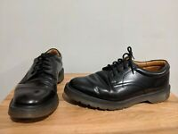 "Vintage Solovair 1462 ""The Postman"" Black Leather Shoes - UK 9 - Made in England"