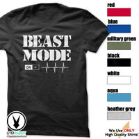 BEAST MODE ON - Gym Men's Bodybuilding T-shirt for Bodybuilding and Fitness c43