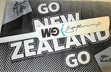 Stephen Fleming  (New Zealand) signed GM  Mini Bat + COA & Proof