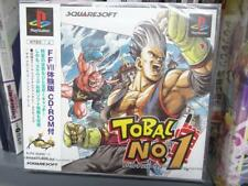 Tobal No. 1 (1996) Brand New Factory Sealed Japan Sony Playstation 1 PS1 Import
