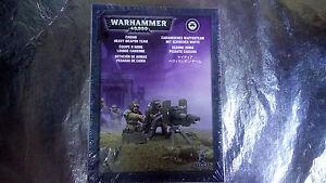 * 47-18 GAMES WORKSHOP Cadian Heavy Weapon Team