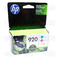 3pk Genuine HP 920 Color Ink OfficeJet 6000 6500 7000 7500-ComboRetailBox