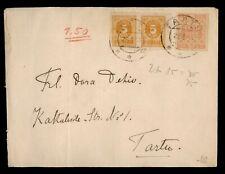 DR WHO 1919? ESTONIA TARTU IMPERF PAIR  g02768