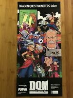 Dragon Quest Monsters: Joker / Naruto Clash Ninja DS 2007 Nintendo Power Poster