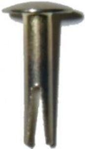 """Split Rivets - Brass Plated - 11/16""""  steamer trunk chest antique vintage furnit"""