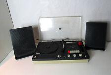 Combiné Tourne-disque Platine Vinyle Cassette K7 Continental Edison CK 7942