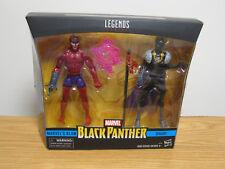 NEW 2017 Marvel Legends Black Panther Marvel's Klaw & Shuri NIP VHTF