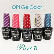OPI GelColor PART B All New Soak Off Led UV Gel Lacquer Base Top Coat 15ml 0.5oz