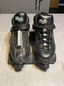 Sure Grip Rock GT-50 Size 12 Roller Skates Black used