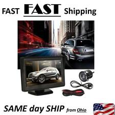 Car Rear View Monitor + Night Vision Backup Camera Kit - Complete KIT - NEW