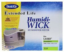 BEST AIR Extended Life L15 Humidifier Wick Filter Fits Lasko 1000 1050 1150 1155