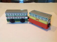 Thomas and Friends Wooden Railway,FLORA AND FLORAS TRAM 2 Piece Set, 2003