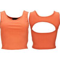 New Ladies Running Vest Womens Sports Bra Crop Top Fitness Training Gym Yoga