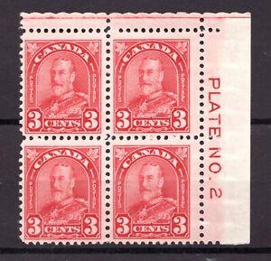 #167 - Canada - 1931 - Plate 2 UR Rotary  -  MNH/MH -  F/VF  - superfleas - 25+