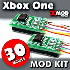 XBOX ONE MOD CHIP KIT, RAPID FIRE MODDED CONTROLLER S  XMOD 30 MODE @ LOT 2 PACK