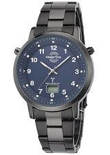 MASTER TIME Herren-Armbanduhr Funk Specialist mit Stahlband MTGA-10698-23M