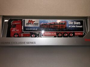 Herpa 1/87 MB Actros TCH Hauser Trucks 904568 Exclusiv Modell
