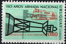 Uruguay Railroad Locomotive 1976 stamp MNH