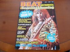 BEAT INSTRUMENTAL OCTOBER 1976 ZAL CLEMINSON, NAZARETH, MIKE BATT *AS PICTURES*