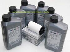 GENUINE VW, AUDI, SKODA DSG Oil Filter 02E305051C and Oil G052182A2 X6