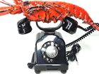 "Telephone BAKELITE ""Red Lobster"" Rotary 1945 Germany WORKING"