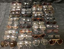 Vintage 44 piece LOT • eye sun safety GLASSES eyeglass Readers Modern