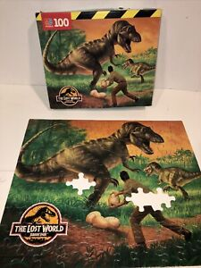 Vtg The Lost World Jurassic Park Jigsaw Puzzle Incomplete Replacement Parts