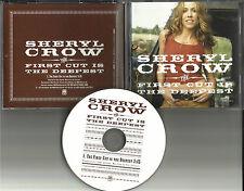SHERYL CROW First cut is the Deepest PROMO DJ CD Single ROD STEWART cat Stevens