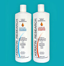 Sulfate Free Shampoo Conditioner 2 Liters Set with Moroccan Argan oil Amazing