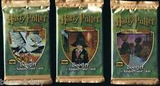 NEW Harry Potter Trading Cards 3 Sealed Booster Pack Bargain Price Wizards Coast