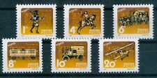 Hungary-1987.Postal History Postage Due(Mail Coach,Airplane,Train) Cpl.Set Mnh!