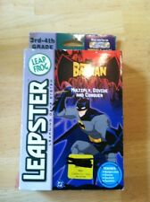 """Leap Frog Leapster Game """"The Batman"""" New Sealed Box 3rd-4th Grade Math"""