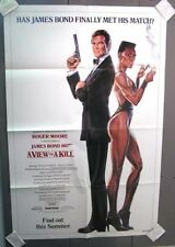 Orig JAMES BOND 1985 1-Sheet Poster A VIEW TO A KILL