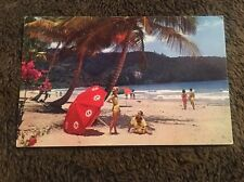 Vintage Postcard Unposted Beach Trinidad Spain