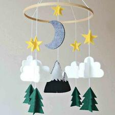 Boys/Girls Baby Crib Mobile Woodland Night Nursery Mobile Room Decoration Felt