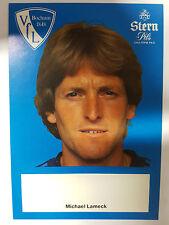 AK o.Orig.AG Michael Lameck Fußball VFL Bochum Saison 82/83 Rarität!