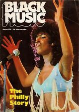 The Three Degrees on Black Music Magazine Cover August  1974    The Philly Story