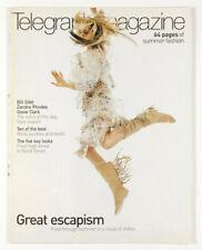 BILL GIBB Ossie Clark ZANDRA RHODES Yves Saint Laurent TWIGGY Telegraph magazine