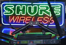Shure UR24D Handheld UHF Wireless Handheld System UR2 L3 SM58 SM86 SM87 BETA87