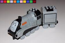 Lego Duplo - Spencer mit Anhänger - Thomas u. Freunde - Lok Eisenbahn - aus 3353