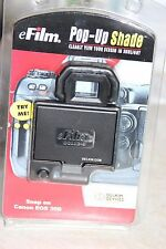 efilm pop up CANON EOS 30D DSLR CAMERA LCD HOOD AND SCREEN PROTECTOR BNIB