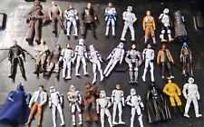 Star Wars Large bundle of mixed figures Stormtroopers Darth Vader Chewbacca Land