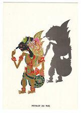 Carte postale publicitaire Laboratoires FRAYSSE marionnette Bali Prince du Mal